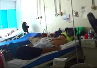 A fiscalização do CRM-AP também encontrou na unidade de saúde na capital crianças e adultos dividindo a mesma enfermaria