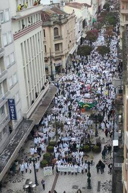 Movimento em Curitiba