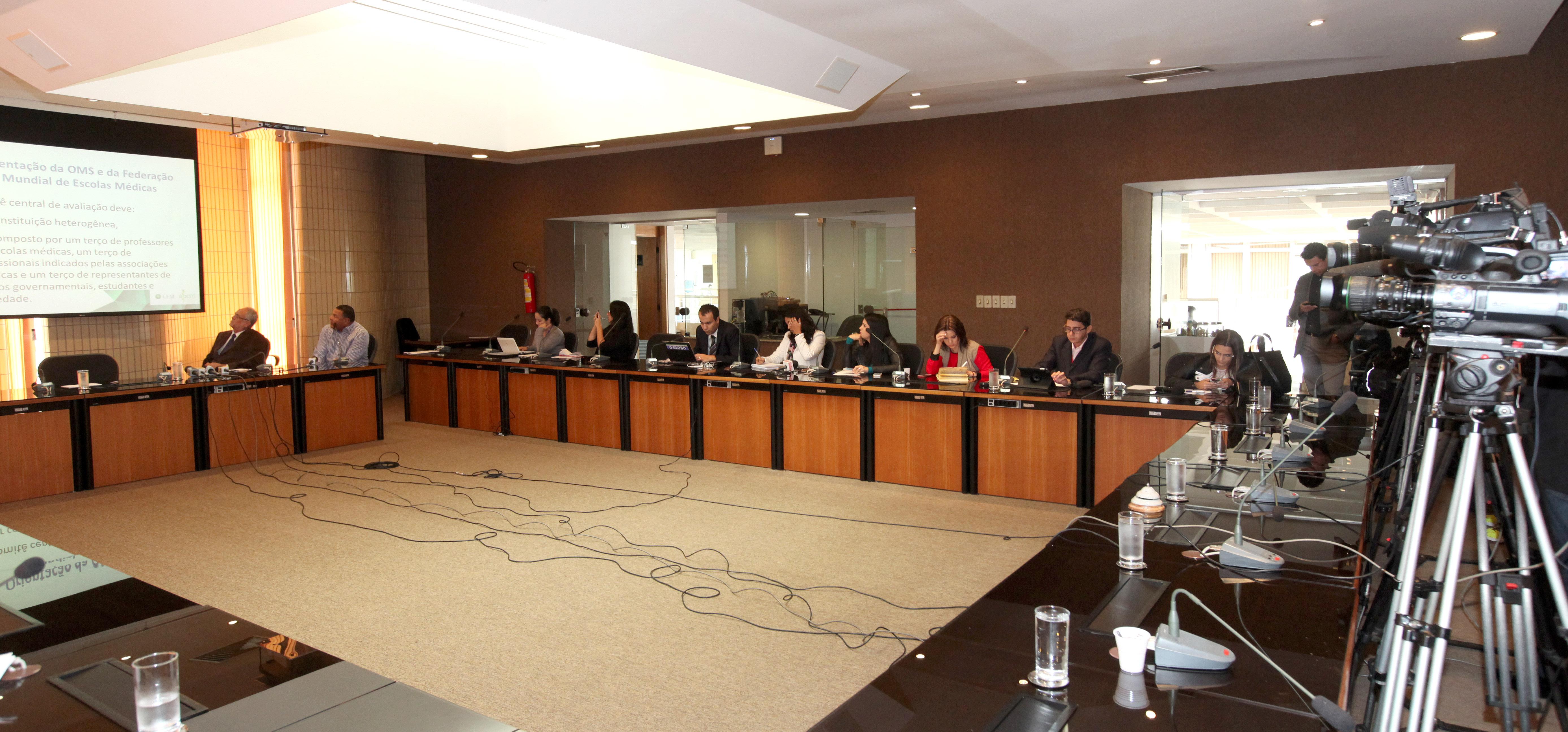 O Sistema de Avaliação de Cursos foi apresentado à imprensa