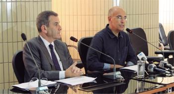 Mauro Ribeiro (à dir.): novos critérios poderão ajudar no tratamento de casos graves de diabetes do tipo 2