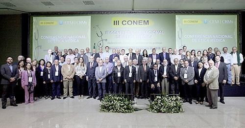 Lideranças médicas reuniram-se nesta quarta-feira (15), em Brasília, para a etapa final da III Conferência Nacional de Ética Médica (III Conem).