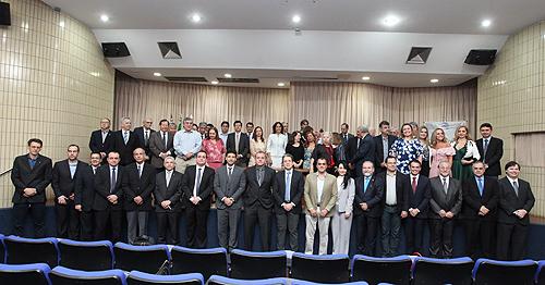 Conselheiros federais efetivos e suplentes tomaram posse para a gestão 2019-2024