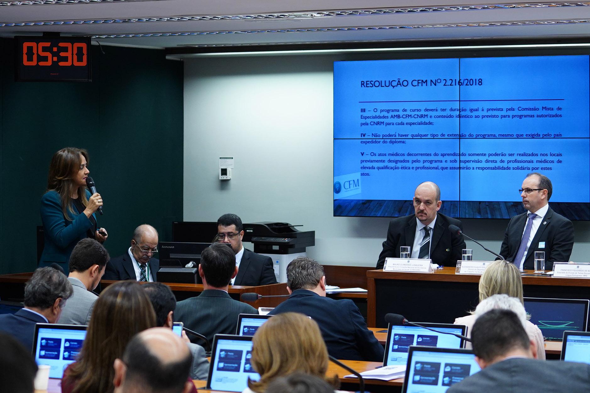 Audiência Pública na Câmara dos Deputados debateu o Revalida