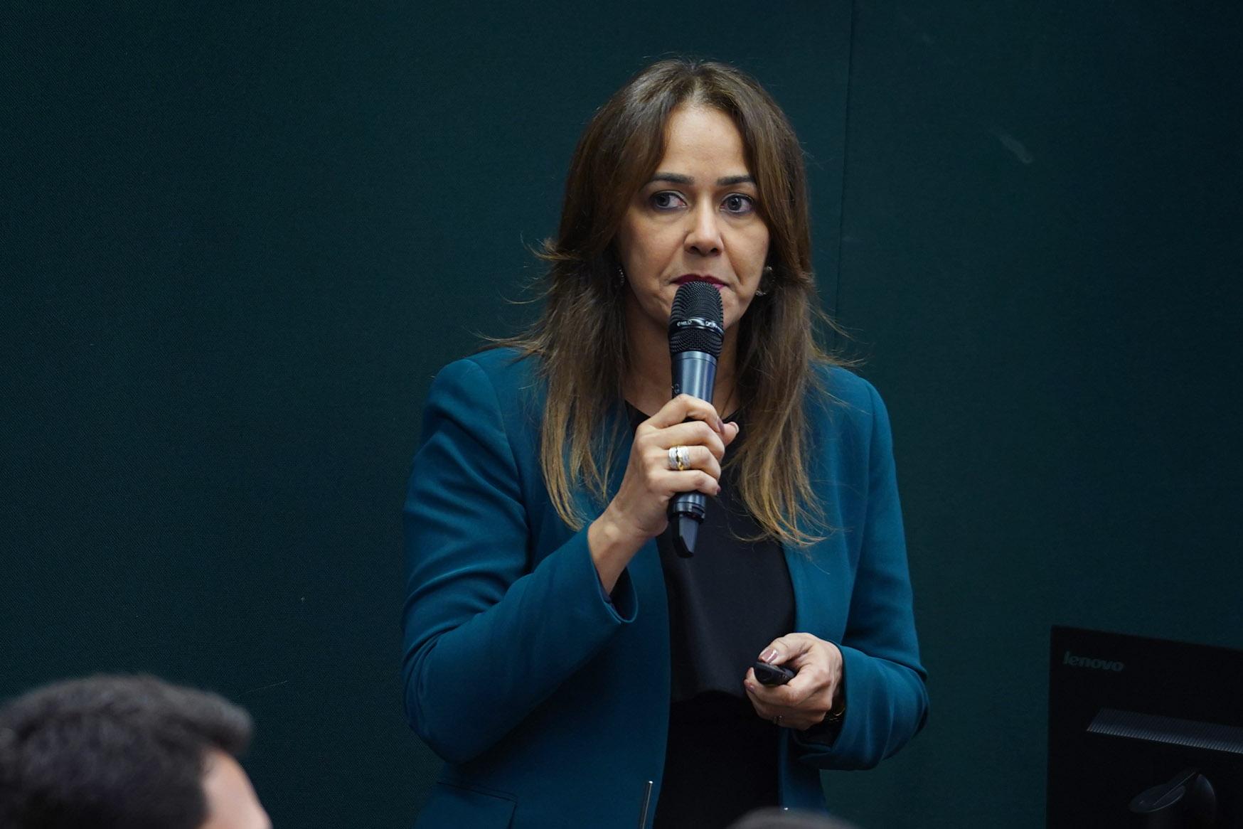 Conselheira Rosylane Rocha apresentou a proposta do CFM